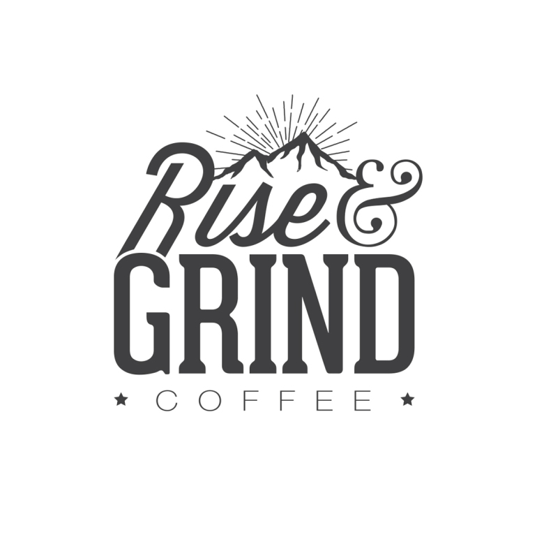 Rise Grind Coffee Phil Keeler Designs